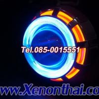 ไฟหน้าโปรเจคเตอร์รถมอเตอร์ไซค์ระบบ LED