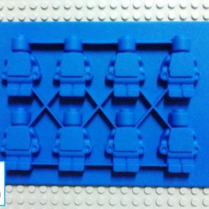 Lego Minifigure Mold แม่พิมพ์ Minifigure-Blue
