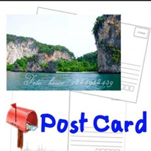 โปสการ์ด (Post Card) ขนาด 5 นิ้ว x 7 นิ้ว ชุด 5 ใบ