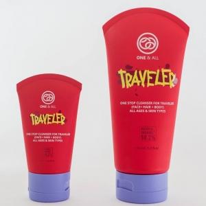 One & All Traveler - 3 in 1 Organic Cleanser 60 ml.