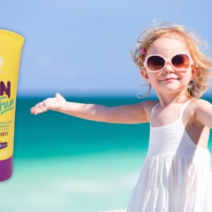 One & All Sun Fun SPF 50 PA+++ 20 ml. organic sun block