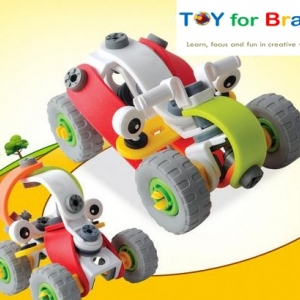 Build and Play ตัวต่อความคิด DIY ชุด Car 2 in 1 set