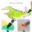 สีเทียนแบบล้างออกง่าย Joan Miro Washable Crayon - 16 colors thumbnail 5