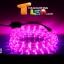 ไฟสายยาง (ท่อกลม) LED 10 m สีชมพู thumbnail 1
