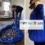 Portable Play Mat and Toy Storage Bag - Blue ถุงเก็บของเล่น ถุงเก็บLego thumbnail 2