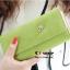 กระเป๋าสตางค์ YADAS พร้อมส่ง สีเขียว หนัง PU ทรงเรียบหรู ใบยาว DESIGN สุดเก๋ ไฮโซมากๆ thumbnail 1