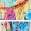 MAXI DRESS ชุดเดรสยาว พร้อมส่ง สีโทนฟ้า ผ้าชีฟอง เนื้อนิ่ม ใส่สบาย พิมพ์ลายดอกไม้สวยมากๆค่ะ thumbnail 6