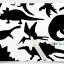 Scratch Cards-Jurassic park ชุดศิลปะขูดพร้อม stencil thumbnail 3