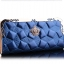 กระเป๋าสตางค์ BENLEI พร้อมส่ง สีน้ำเงิน ดีเทลลวดลายเก๋ ใบยาว DESING สุดเก๋ ไฮโซมากๆ ลายเก๋ๆ thumbnail 2