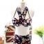 ชุดว่ายน้ำทูพีช สีดำ แต่งสายคล้องคอ ลายผีเสื้อ + ลายดอกไม้สีสัน ดีเทลกางเกงย่นๆ ด้านหน้า น่ารักมากๆค่ะ thumbnail 8