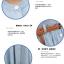 ชุดเดรสแฟชั่น พร้อมส่ง สียีนส์ซีด ฟอกสีสวย แขนกุด เอวสม็อคด้านหลัง มาพร้อมเข็มขัดเข้ากับตัวชุด สามารถใส่ทำงานได้ thumbnail 6
