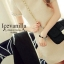 New arrival original import Premium Fabric & Quality Liza pearl jewels stitch Luxury Dress thumbnail 2
