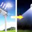 SL01 โคมไฟถนนโซล่าเซลล์อัจฉริยะรุ่น 7W All-in-one solar street light thumbnail 5