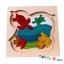 Uncle Wood - 3 layer Jigsaw Puzzle 'Friendly Dolphin' ตัวต่อจิ๊กซอว์ไม้-ปลาโลมา thumbnail 3