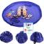 Portable Play Mat and Toy Storage Bag - Blue ถุงเก็บของเล่น ถุงเก็บLego thumbnail 4