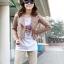 เสื้อแจ็คเก็ต เสื้อหนังแฟชั่น พร้อมส่ง สีชมพูอ่อน แบบเท่ห์ๆ อินเทรนด์ สไตล์เกาหลี thumbnail 3