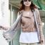 เสื้อแจ็คเก็ต เสื้อหนังแฟชั่น พร้อมส่ง สีชมพูอ่อน แบบเท่ห์ๆ อินเทรนด์ สไตล์เกาหลี thumbnail 4