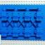 Lego Minifigure Mold แม่พิมพ์ Minifigure-Blue thumbnail 1