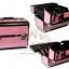 BEAUTY SECRET D Professional Cosmetic Case BX007 กระเป๋าใส่เครื่องสำอางค์ (สีชมพู) thumbnail 2