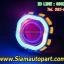 ไฟโปรเจคเตอร์มอเตอ์ไซค์ทรงเหลี่ยมไฟวงแหวนLEDแบบCOB thumbnail 4