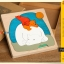 Uncle Wood - 3 layer Jigsaw Puzzle 'Polar Bear' ตัวต่อจิ๊กซอว์ไม้-หมีขั้วโลก thumbnail 2