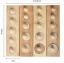 Cylinder Socket - ชุดบล็อคไม้ MONTESSORI Learning Set thumbnail 2