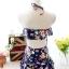 ชุดว่ายน้ำทูพีช สีกรม สายคล้องคอ ดีเทลลายผีเสื้อ และ ดอกไม้สีหวาน กระโปรงแต่งระบายน่ารัก มากๆค่ะ thumbnail 10