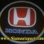 ไฟโลโก้ส่องพื้น Chip cree 5w-Honda (สีครีม) thumbnail 3