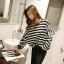 Cliona's made, Autum stripe Oversize Sweater Knit thumbnail 3