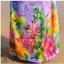 maxi dress ชุดเดรสยาว พร้อมส่ง สีม่วง คอวีลึก ลายดอกไม้สีสัน สม๊อคช่วงเอว สวยมากๆค่ะ thumbnail 7