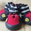 รองเท้าสุนัขโต สีแดง-ดำ (4 ข้าง) thumbnail 1