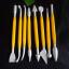 Plastic Fondant Modeling Tools สีเหลือง (8 ชิ้น ต่อชุด) thumbnail 1