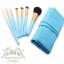 แปรงแต่งหน้า ชุดเซ็ท แปรงแต่งหน้า คุณภาพดี ขนอ่อนนุ่ม CerroQreen Makeup Brush Sets Set /7 ชิ้น - สีฟ้า thumbnail 1