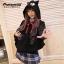 เสื้อคลุมขนสัตว์สีKiki cos KIKI thumbnail 5