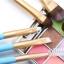 แปรงแต่งหน้า ชุดเซ็ท แปรงแต่งหน้า คุณภาพดี ขนอ่อนนุ่ม CerroQreen Makeup Brush Sets Set /7 ชิ้น - สีฟ้า thumbnail 4