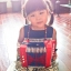 Mini Accordion For Kids - Blue แอคคอร์ดเดียนสำหรับเด็ก thumbnail 4