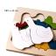 Uncle Wood - 3 layer Jigsaw Puzzle 'Duck Family' ตัวต่อจิ๊กซอว์ไม้-ครอบครัวเป็ด thumbnail 2