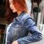เสื้อยีนส์ พร้อมส่ง สียีนส์เข้ม ฟอกสีสวย ดีเทลกระเป๋าด้านหน้าเก๋ คอปก ดีเทลสุดเท่ห์ แฟชั่นมาใหม่สไตล์เกาหลี thumbnail 4