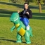 Preorder ชุดปาร์ตี้ไดโนเสาร์เป่าลม Inflatable Dinosaur Costume thumbnail 1