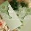 การ์ดแต่งงานพร้อมไส้การ์ด ขนาด 4x8.25 นิ้ว มีทั้งหมด 3 สี คือ สีชมพู รหัส 90211 สีฟ้า รหัส 90216 สีเขียว รหัส 90218 thumbnail 4