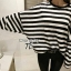 Cliona's made, Autum stripe Oversize Sweater Knit thumbnail 2