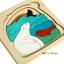 Uncle Wood - 3 layer Jigsaw Puzzle 'Polar Bear' ตัวต่อจิ๊กซอว์ไม้-หมีขั้วโลก thumbnail 5