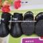 รองเท้าสุนัข รองเท้าแมว บูทยางสีดำ (4 ข้าง) thumbnail 1
