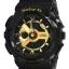 Casio Baby-G BA-110-1ADR black gold series thumbnail 1