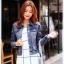 เสื้อยีนส์ พร้อมส่ง สียีนส์เข้ม ฟอกสีสวย ดีเทลกระเป๋าด้านหน้าเก๋ คอปก ดีเทลสุดเท่ห์ แฟชั่นมาใหม่สไตล์เกาหลี thumbnail 5