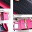 กระเป๋าสตางค์แฟชั่น พร้อมส่ง ด้านนอกสีส้ม ด้านในสีเหลือง ใบยาว DESIGN สุดเก๋ ลายหนังงู สวยหรู thumbnail 6