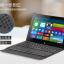 Keyboard Bluetooth มี Touch pad พร้อมเคสพับวางตั้งได้ สำหรับแท็บเล็ต 9-10 นิ้ว thumbnail 12