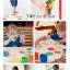 Washable Kid's Paint Box Set กล่องชุดระบายสี 10 สี thumbnail 12
