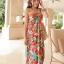 MAXI DRESS ชุดเดรสยาว พร้อมส่ง สีโทนส้ม สายคล้องคอ แต่งลวดลายดอกไม้สีสันสดใส ชุดใส่ไปเที่ยวทะเล หรือปาร์ตี้ริมทะเลได้ค่ะ โดดเด่น ไม่ซ้ำใคร thumbnail 8