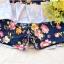 ชุดว่ายน้ำทูพีช สีกรม สายคล้องคอ ดีเทลลายผีเสื้อ และ ดอกไม้สีหวาน กระโปรงแต่งระบายน่ารัก มากๆค่ะ thumbnail 9